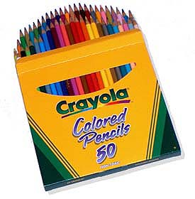 Crayola Colored Pencils 50