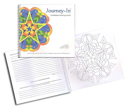 Journey-In: a Meditative  Coloring Journal<br>by J. Sundberg and M. Ahlquist