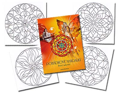 <b>Czech </b>Spirit-World Mandalas Col. Bk<br>by Hrochova<br><b><font color=red>EXCLUSIVE</font></b>