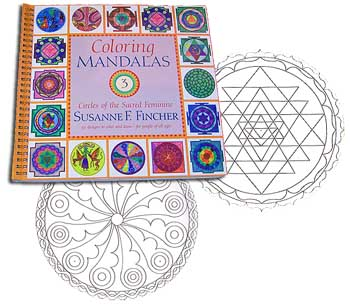 Coloring Mandalas: Circles of the Sacred Feminine<br>by Fincher<br><b><font color=red>15% OFF</font>