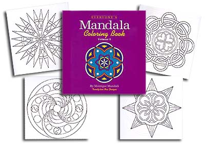 Everyone's Mandala Col. Book #2<br>by M. Mandali<br><b><font color=#FF0000>A Bargain!</font></b>