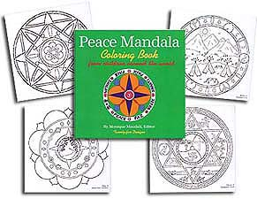Peace Mandala Col. Book<br>by M. Mandali<br><b><font color=#FF0000>Peace Discount</font></b>