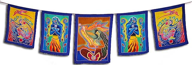 Art of the Sacred Feminine Flags <br><b><font color=red>10% Online Discount!</font></b>
