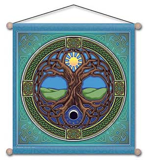 Tree of Life Meditation Banner<br>30
