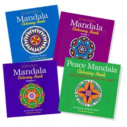 Mandali's <b>TATTERED COVERS<br></b>Coloring Bks<b><br><font color=red>Publisher's Disc.</font></b>